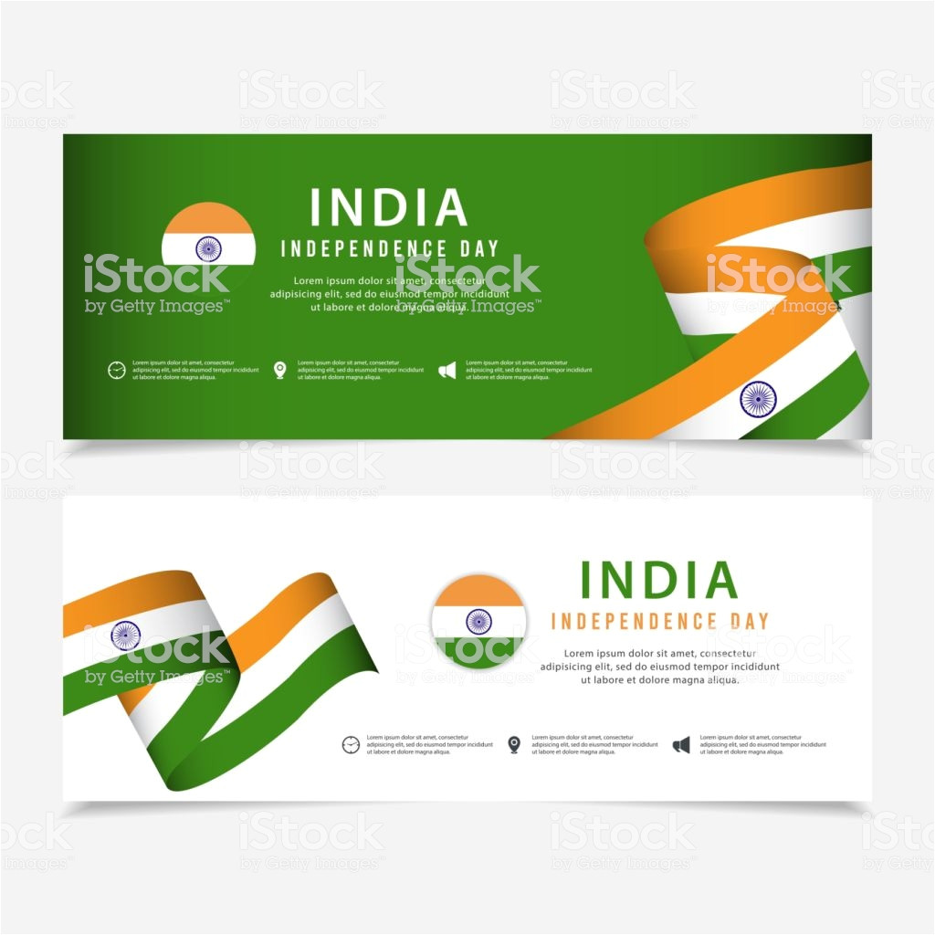 india independence day vector template design for banner greeting or vector id1160762680