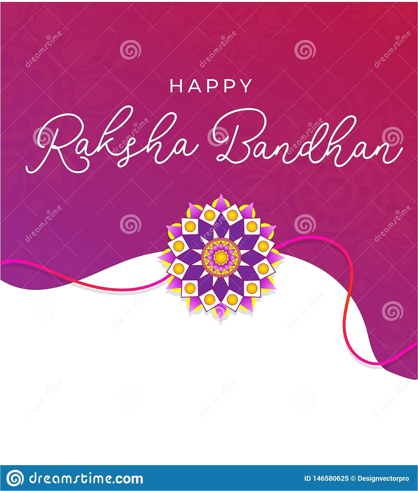happy raksha bandhan greeting card indian holiday invitation card concept vector illustration happy raksha bandhan greeting 146580625 jpg