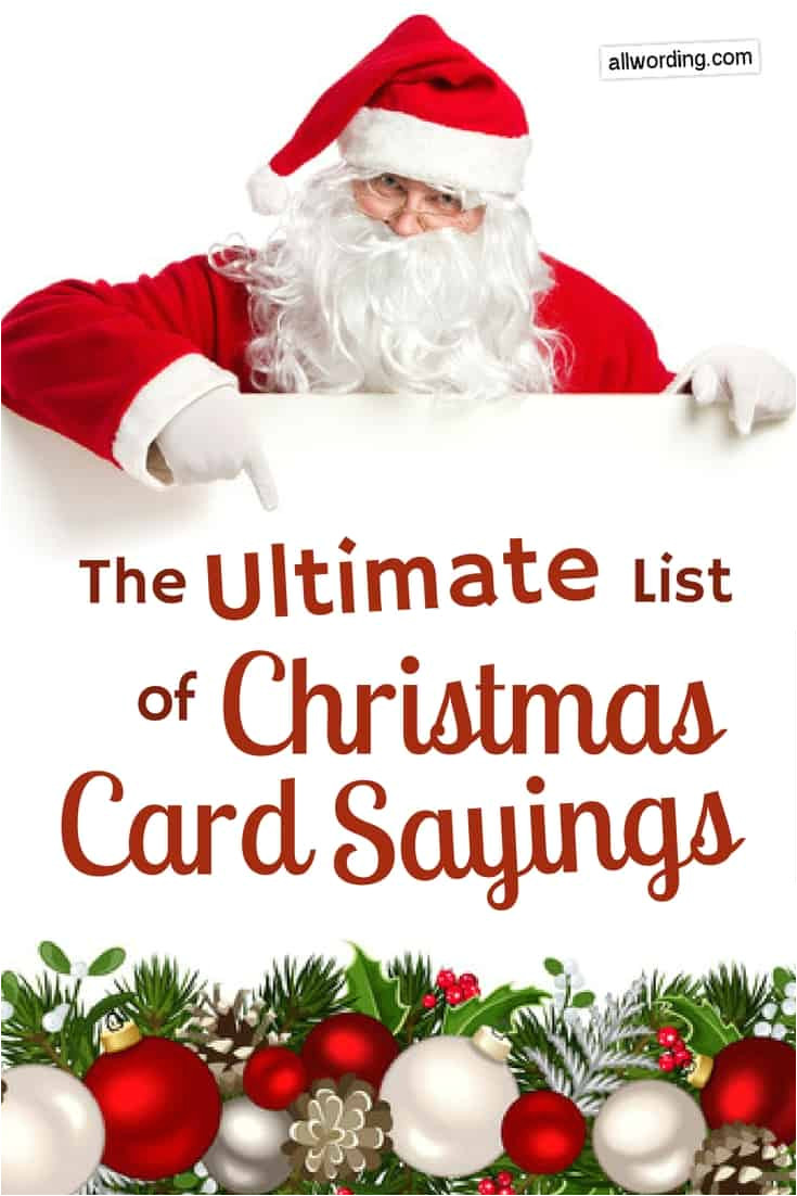 ultimate christmas card sayings pin jpg