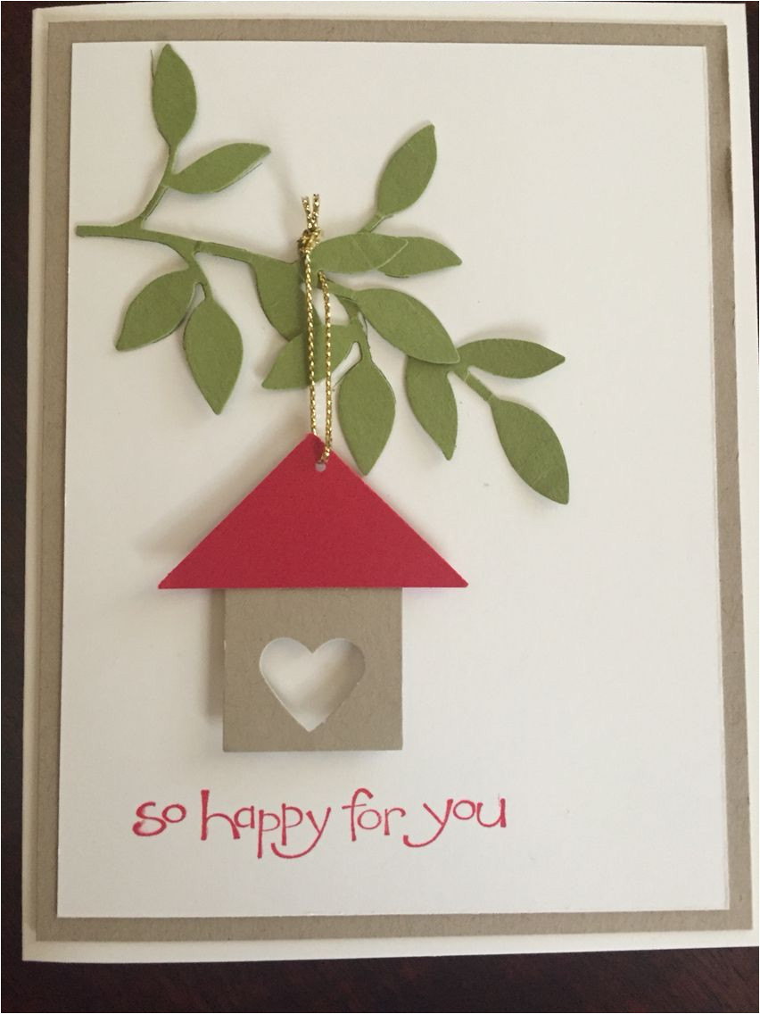 Handmade New Home Card Ideas 60 Best Real Estate Images In 2020 New Home Cards