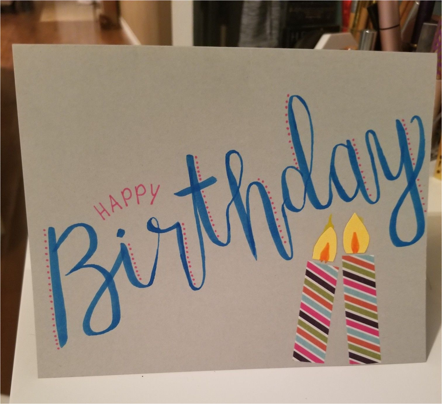 Happy Birthday Card On Pinterest Happy Birthday Card Sister Diy Birthday Mit Bildern