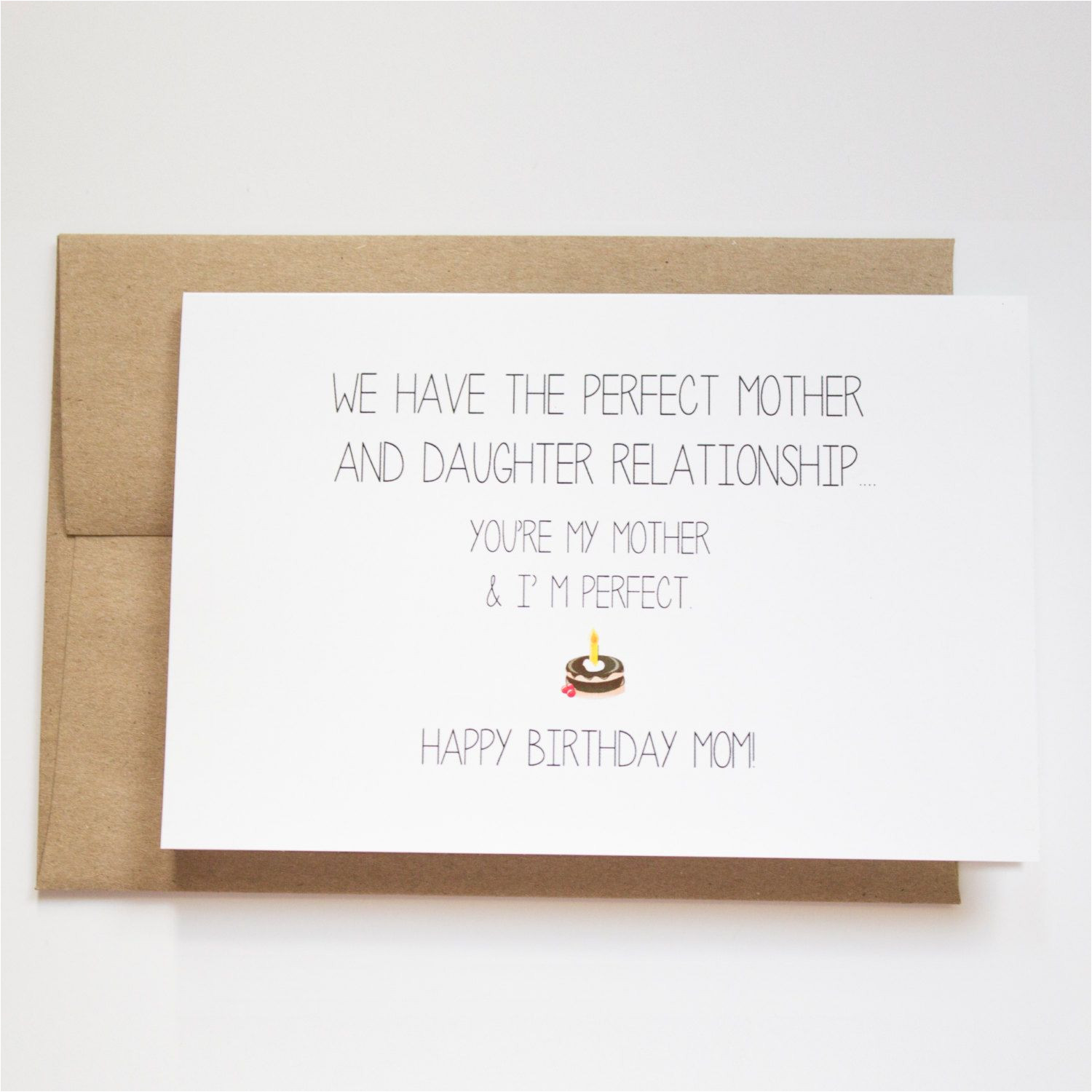 Happy Birthday Card to Mom Image Result for Funny Birthday Card Ideas with Images