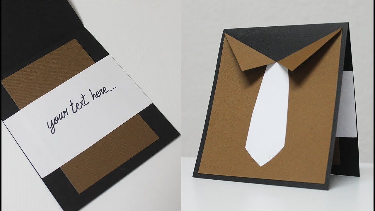 Happy Birthday Ka Card Kaise Banate Hain How to Make Greeting Card for Father Father S Day Card Ideas