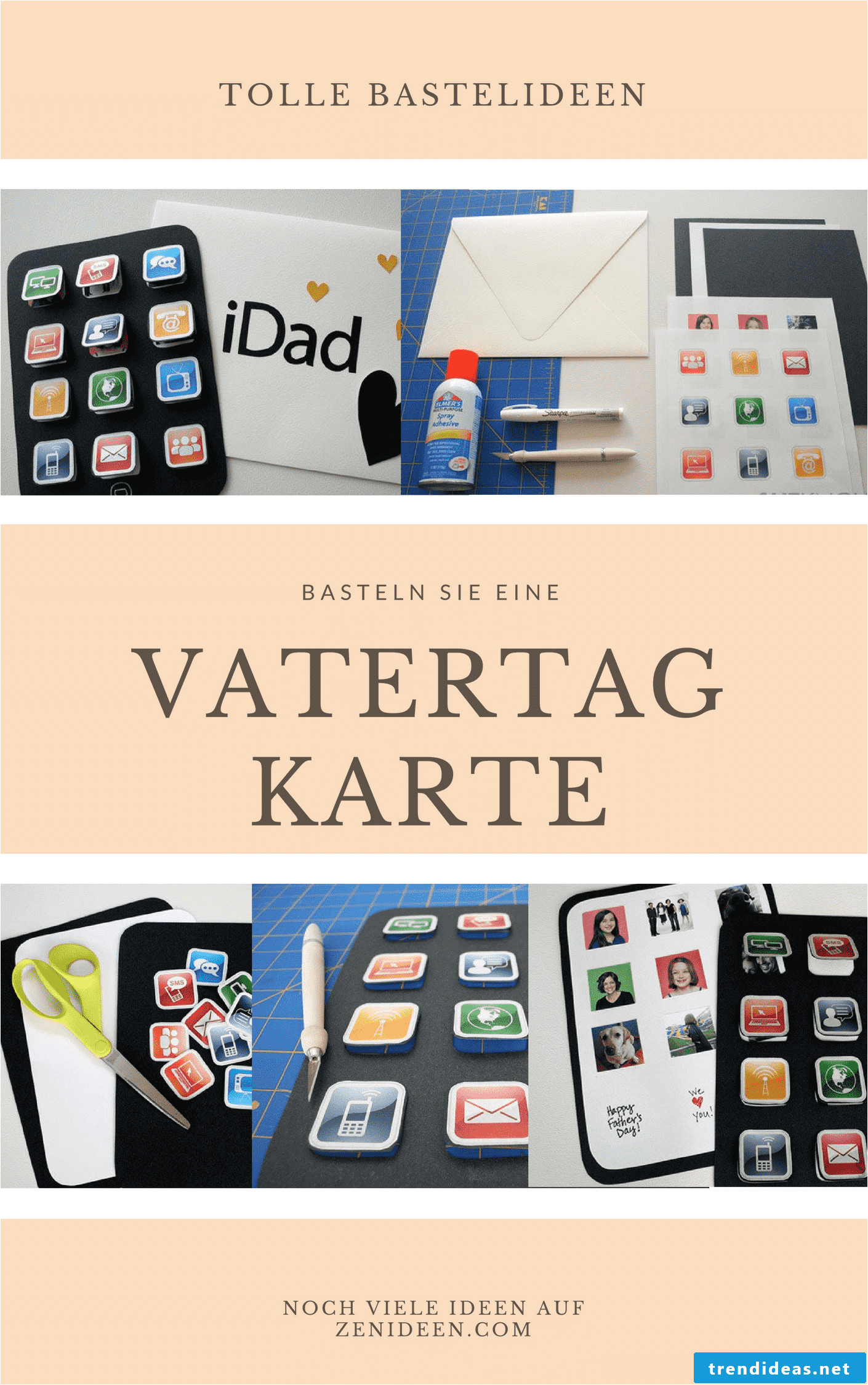 wish your father happy father s day with homemade cards 4 png