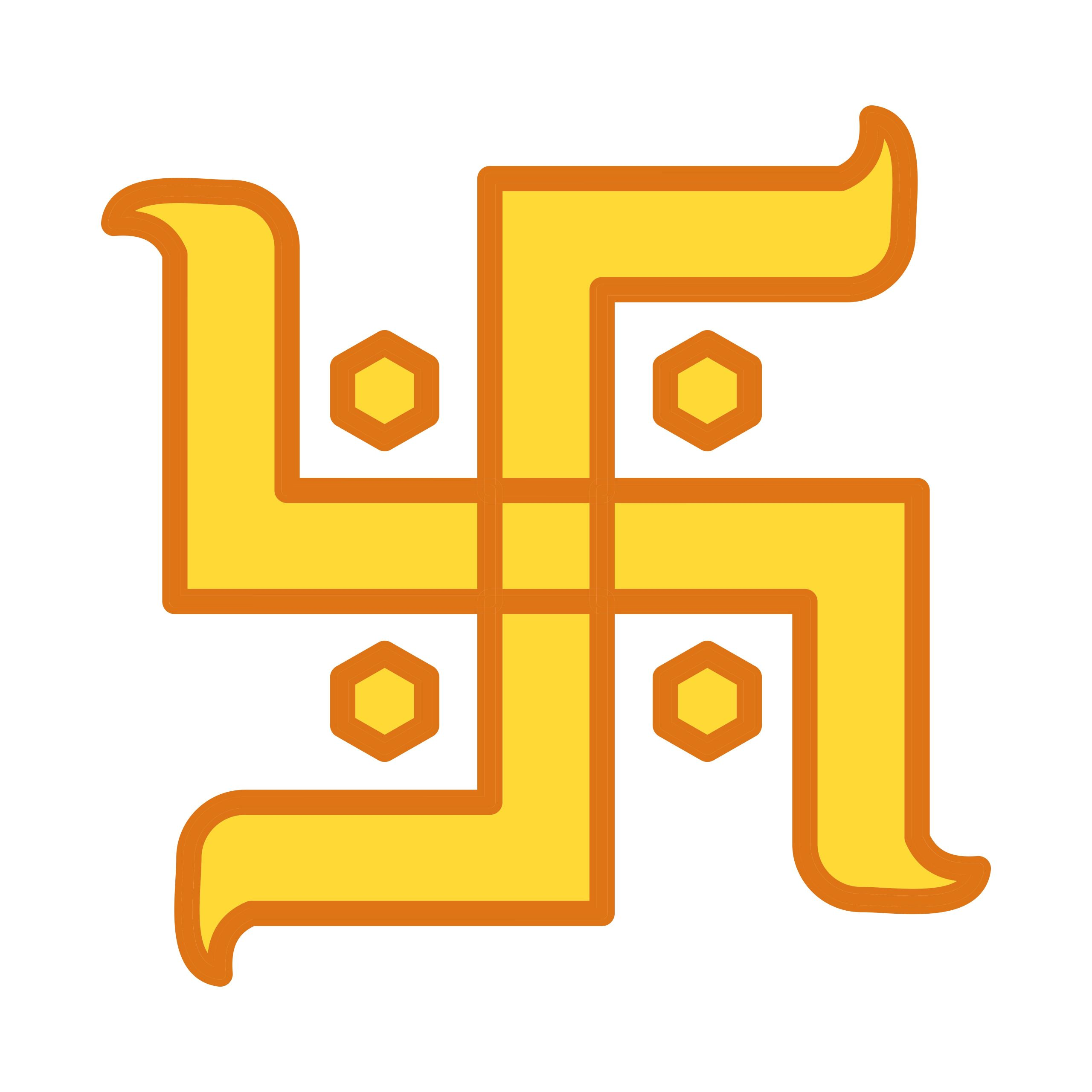 vector hindu sign icon jpg