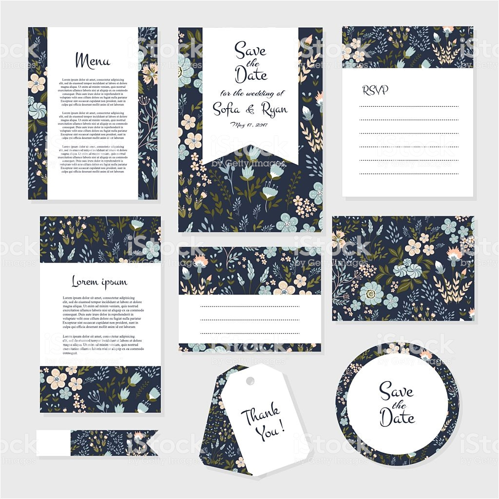 cards template for wedding vector id615911648