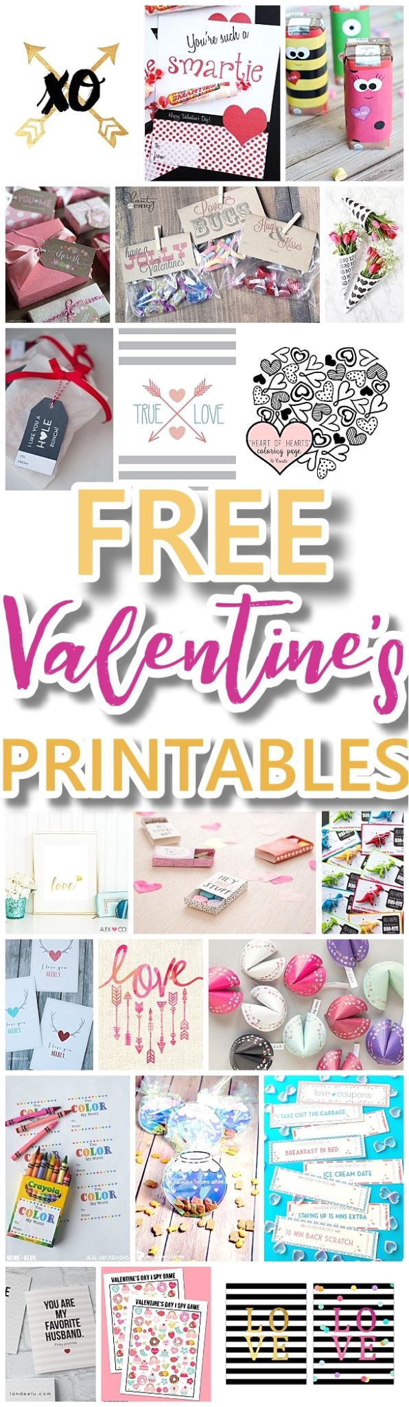 the best valentines day free printables kids classmate cards valentine party decorations hearts love red and pink themed artwork home decor holiday greeting cards for sweethearts jpg