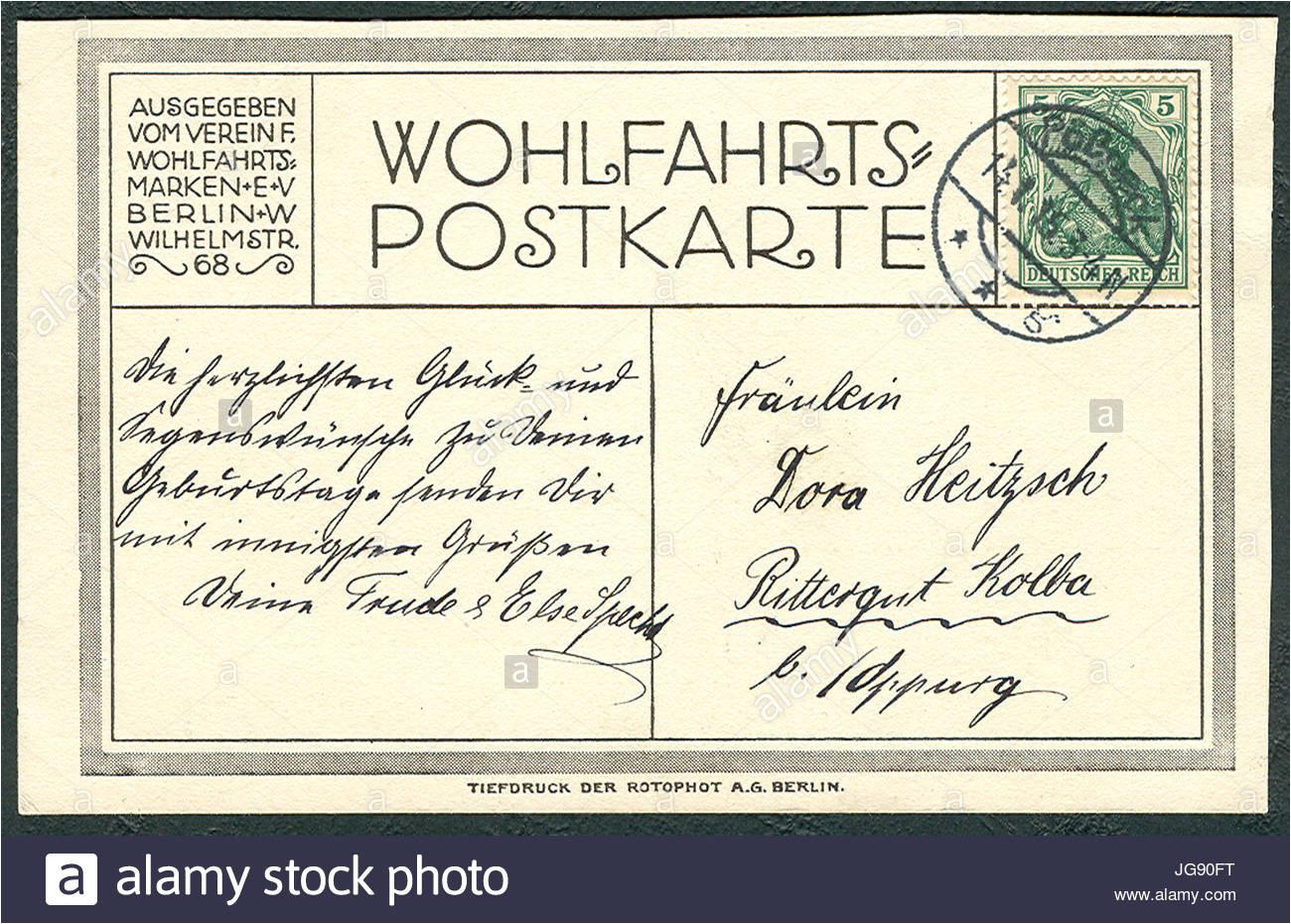 wohlfahrts postkarte deutsche heerfhrer 23 generalfeldmarschall von jg90ft jpg