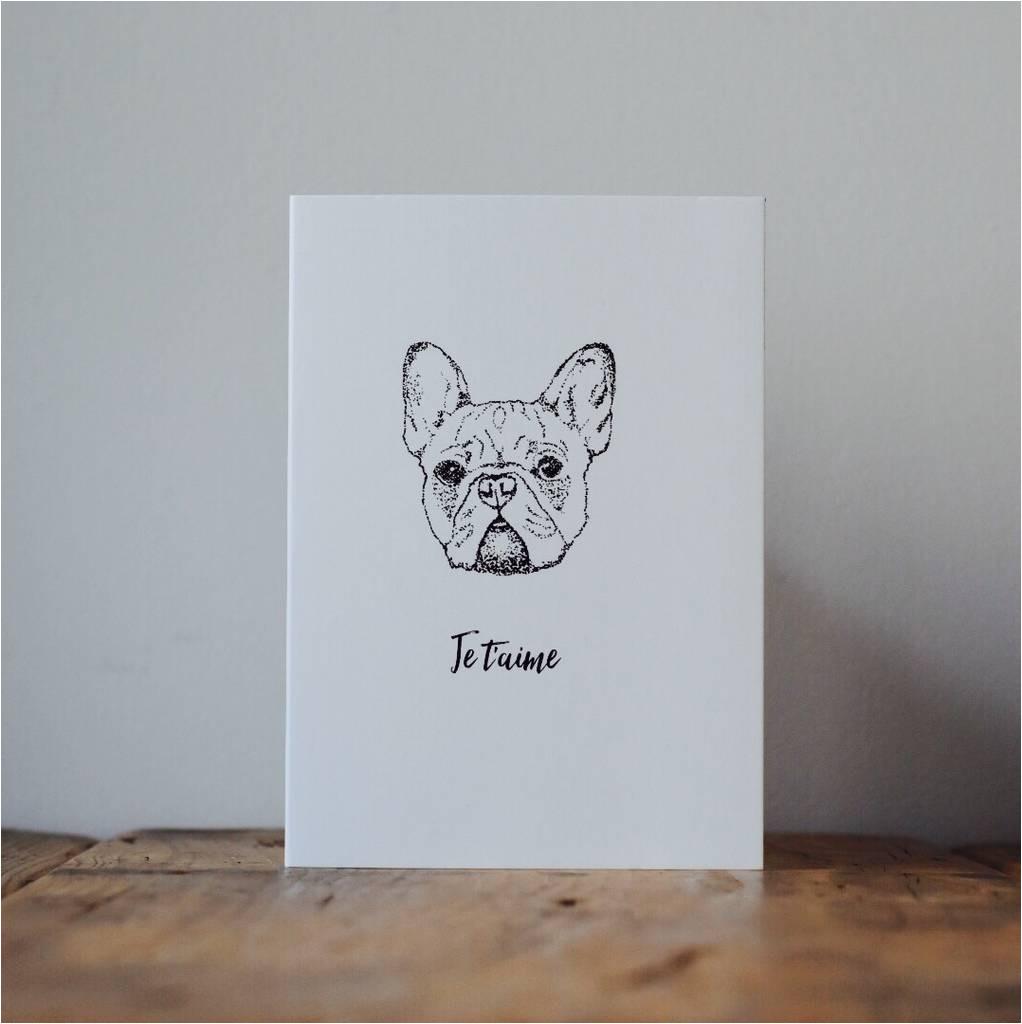 original french bulldog love card jpg