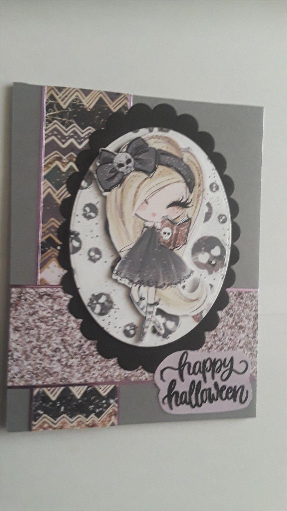 Love From Lizi Card Kit Love for Lizi Kit Halloween Card Halloween Cards Cards