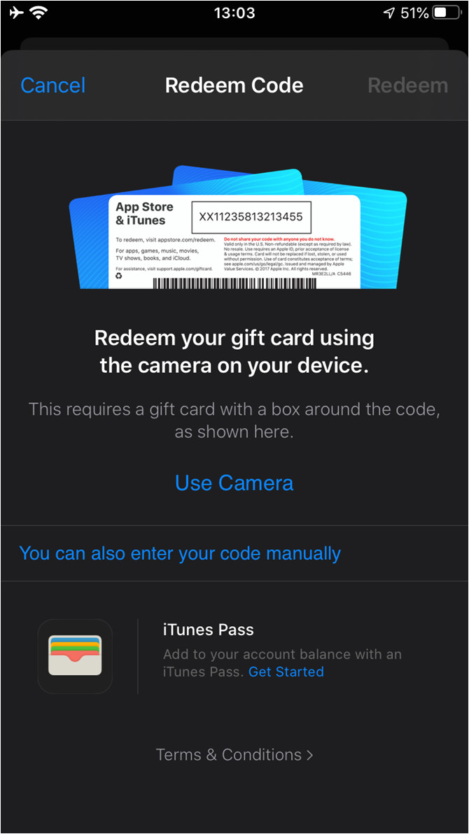 01b itunes redeem gift ios png