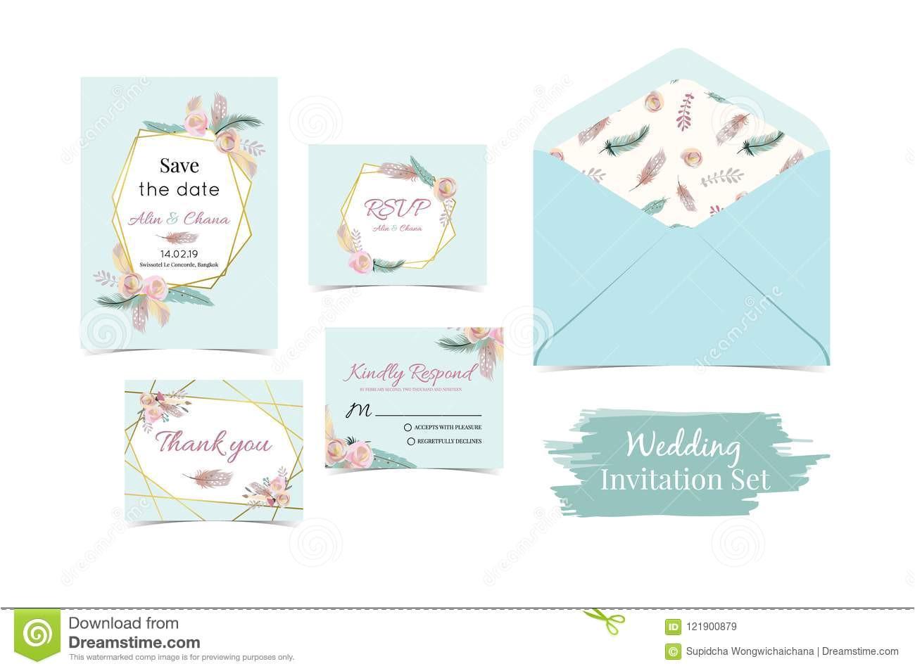 geometry blue green gold wedding invitation set envelope t geometry blue green gold wedding invitation set envelope 121900879 jpg