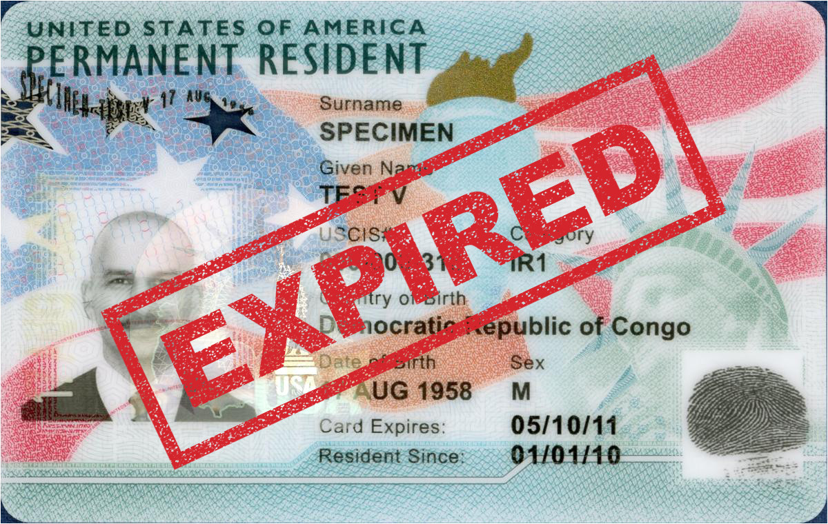 expired green card png