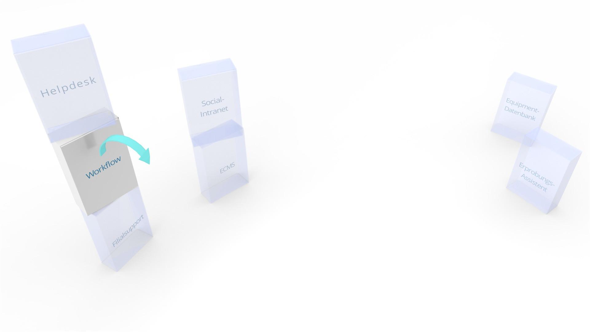 Modern Desktop Business Card Holder Flying Dog software