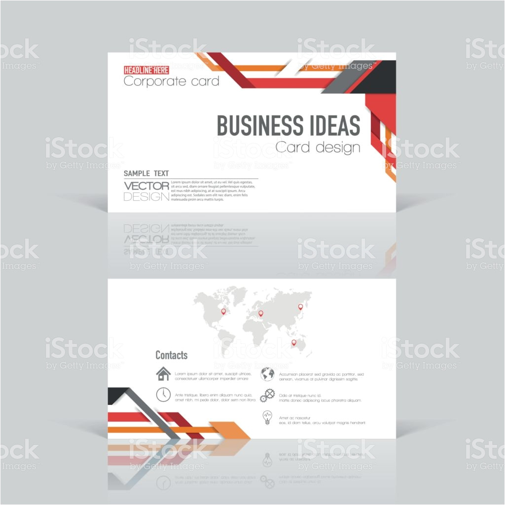 modern creative and clean business card vector id648040096