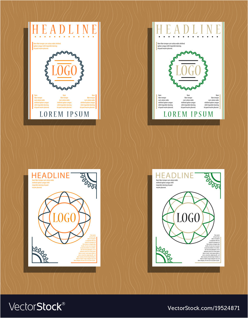 sets of modern light business card template for vector 19524871 jpg