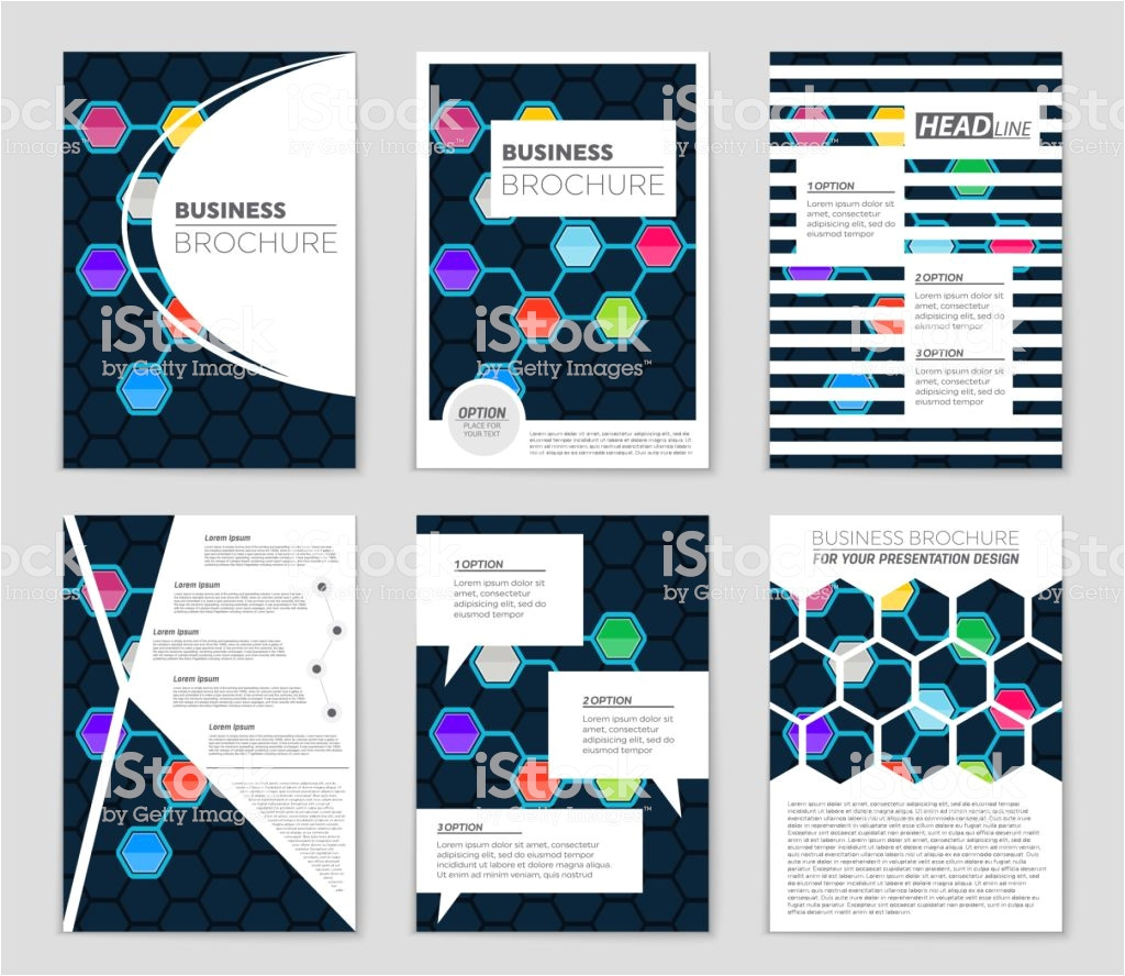abstract vector layout background set for art template design list vector id1065192106