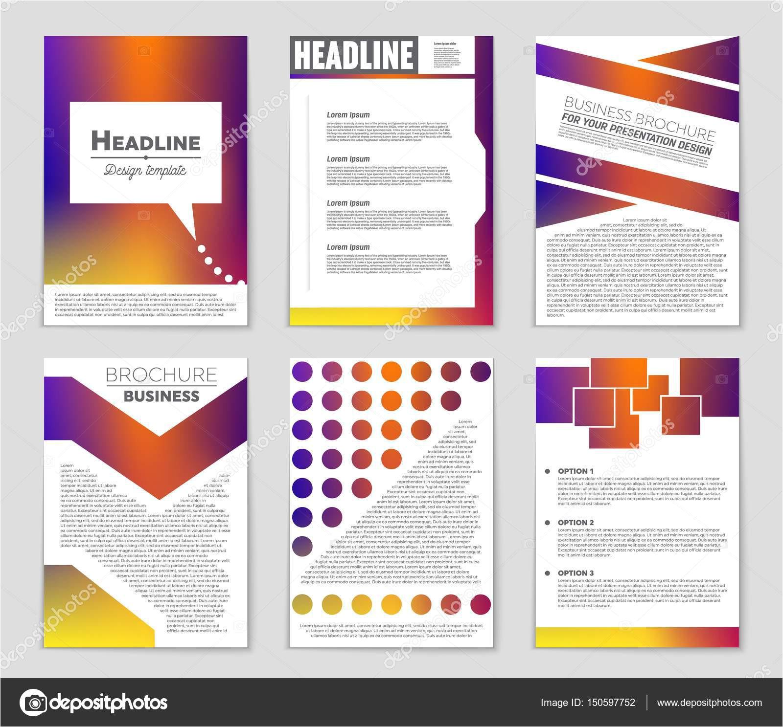 depositphotos 150597752 stock illustration abstract vector layout background set jpg