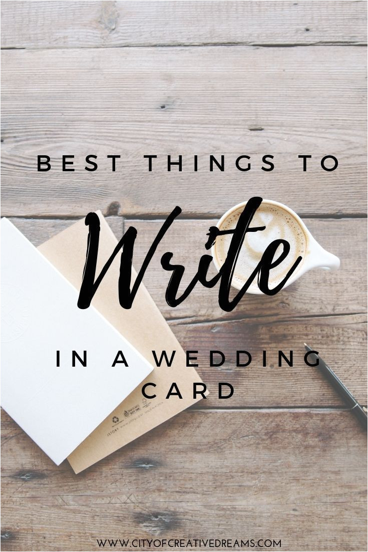 Nice Things to Write In A Wedding Card Best Things to Write In A Wedding Card Wedding Cards