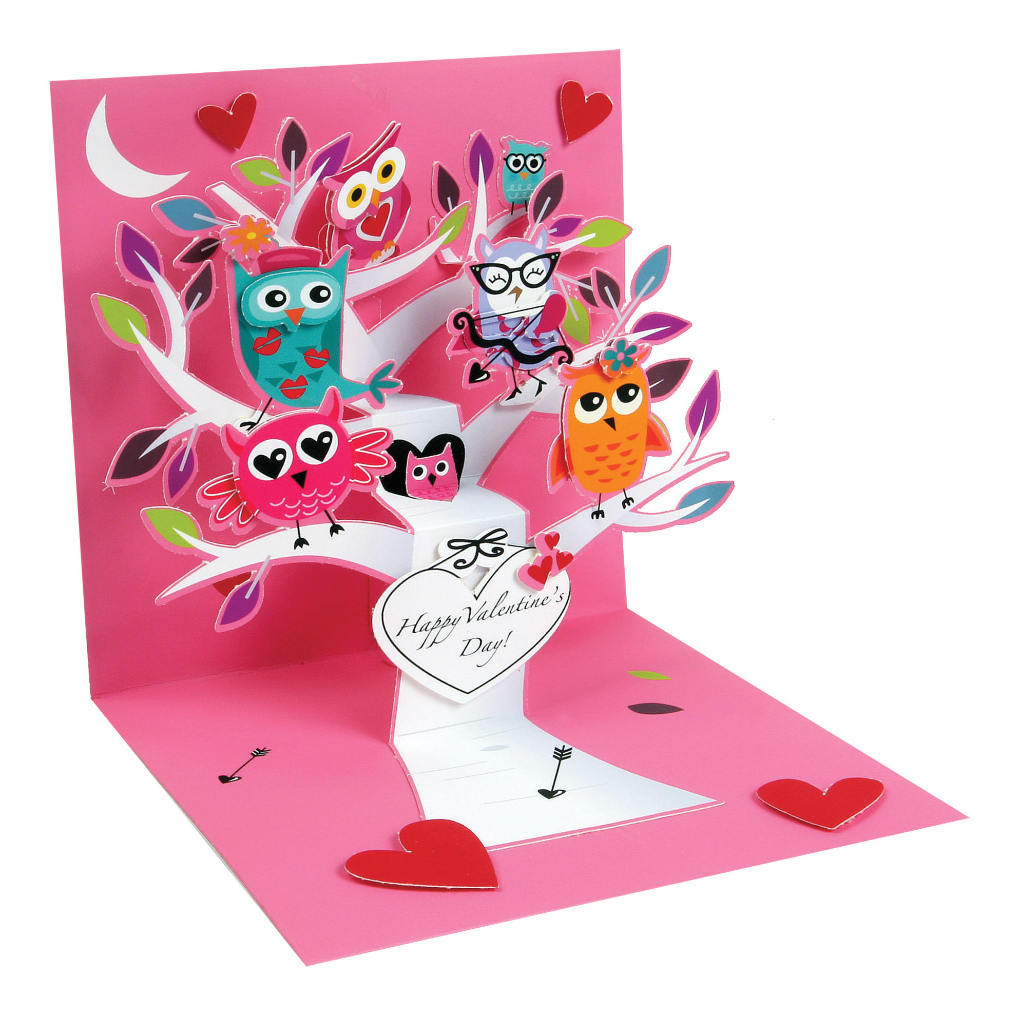 9044710 p up with paper valentine s day pop up greeting cards valentine owls