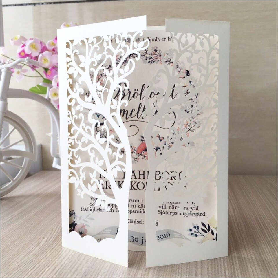 30pcs lot chic tree laser cut wedding invitation card greeting card design shimmer pearl paper craft jpg 960x960 jpg