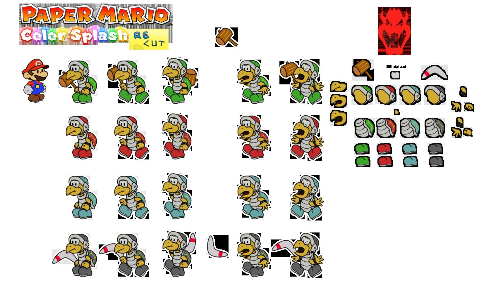 Paper Mario Color Splash Card Slots Paper Mario Color Splash Recut Act 1 Spoilers for First