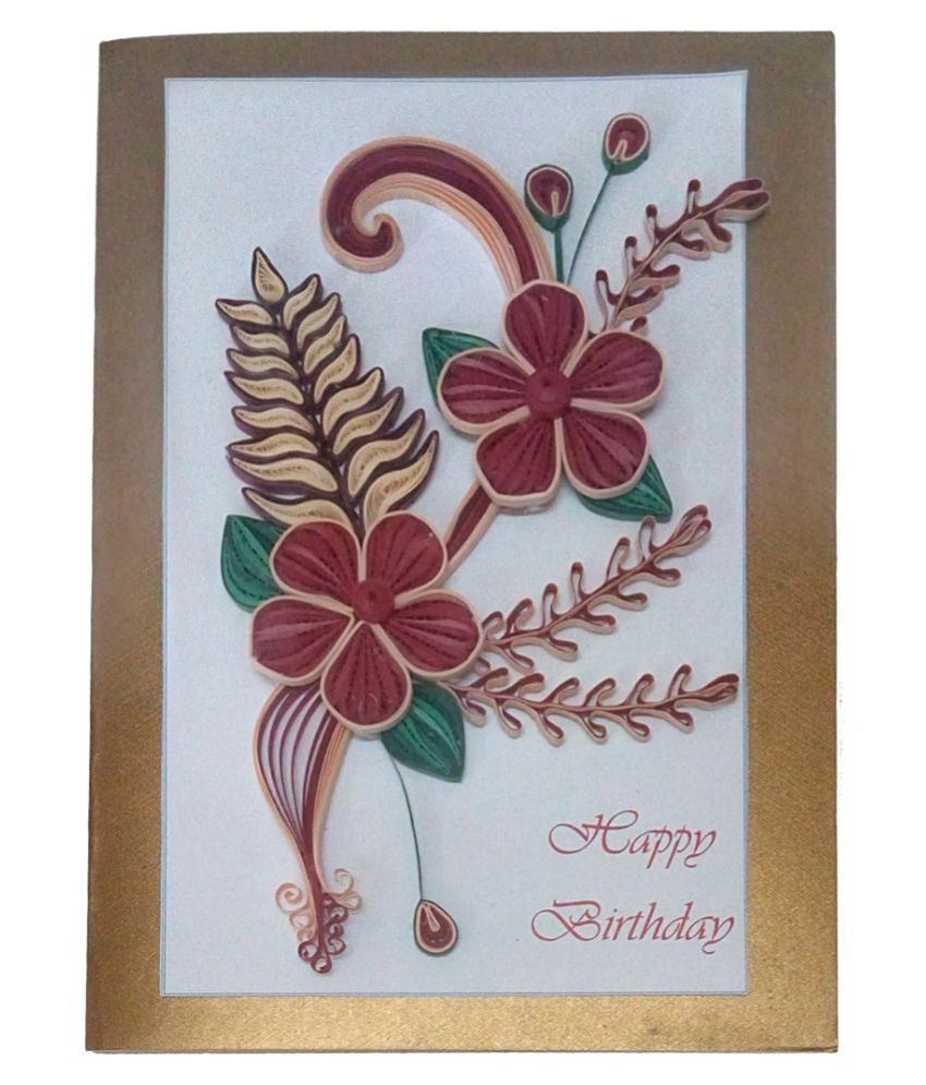 handmade paper quilling happy birthday sdl699990909 1 103b1 jpeg