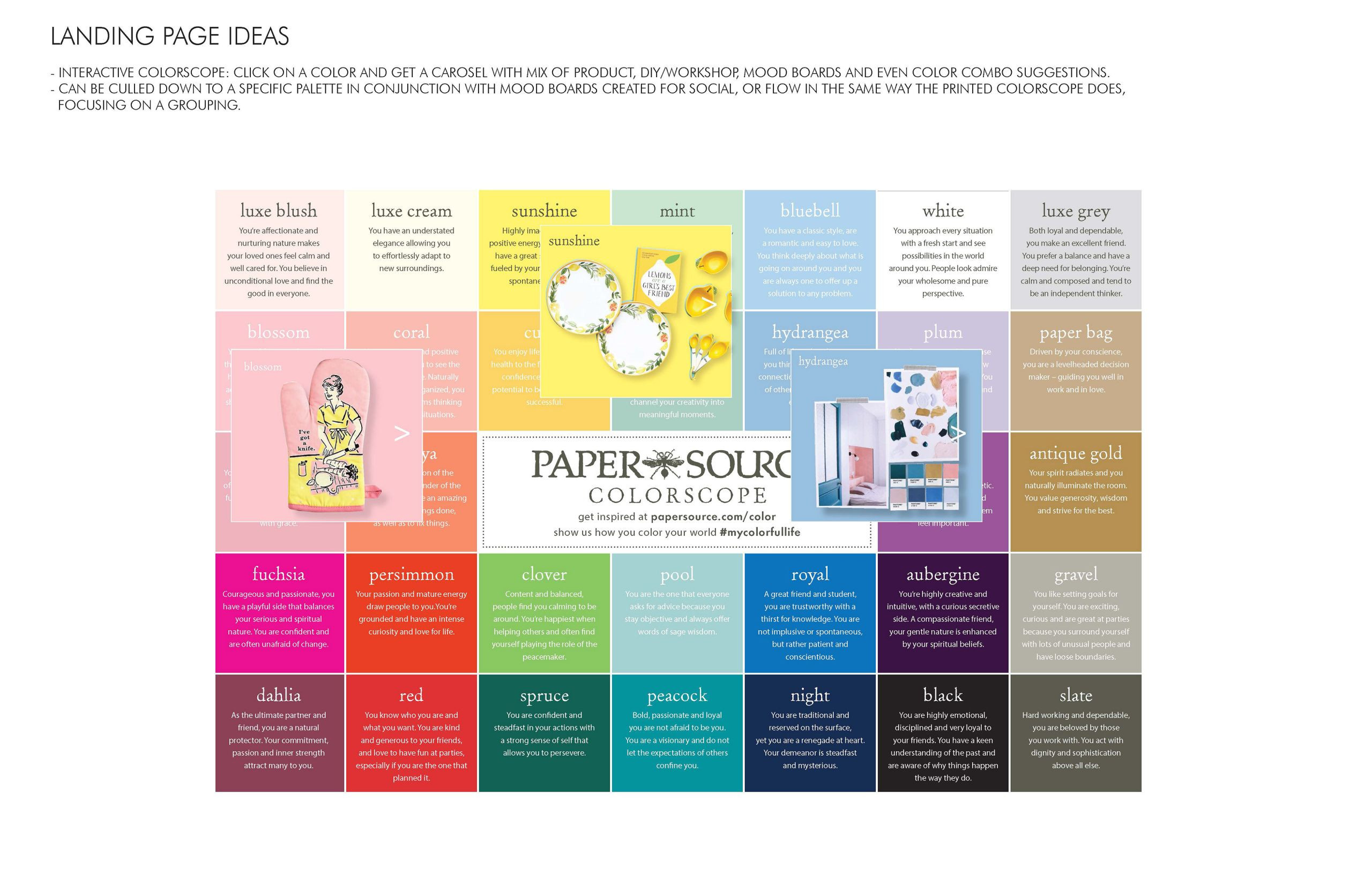 Paper source Gift Card Balance Melissa Brower Colorscope for Paper source