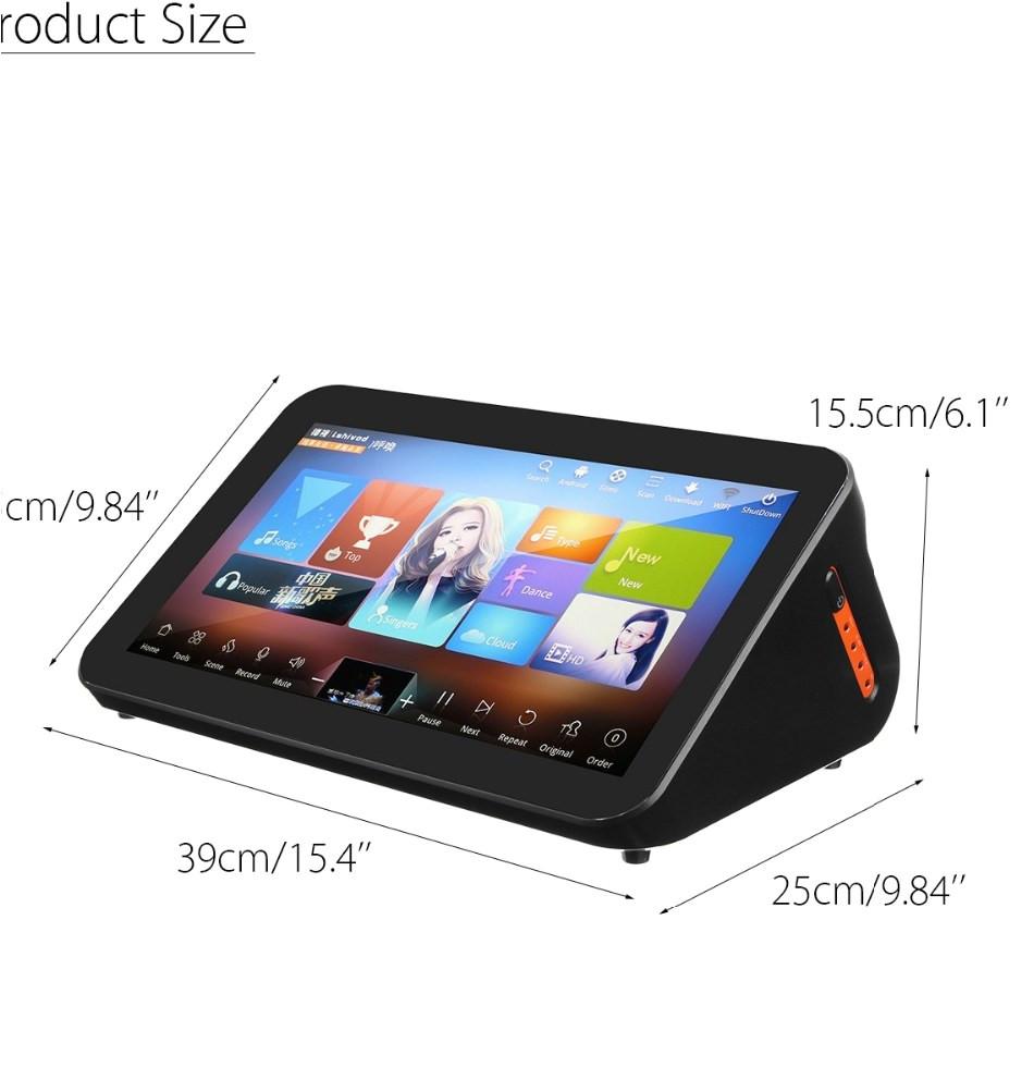 gymsong touch screen singing machine ktv system font b jukebox b font karoake chinese 4tb hdd jpg
