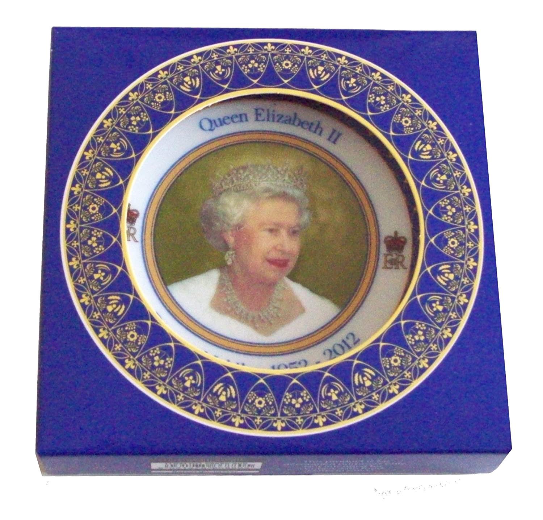 Queen Diamond Wedding Anniversary Card Queen Elizabeth Ii Diamond Jubilee souvenir Medium Size