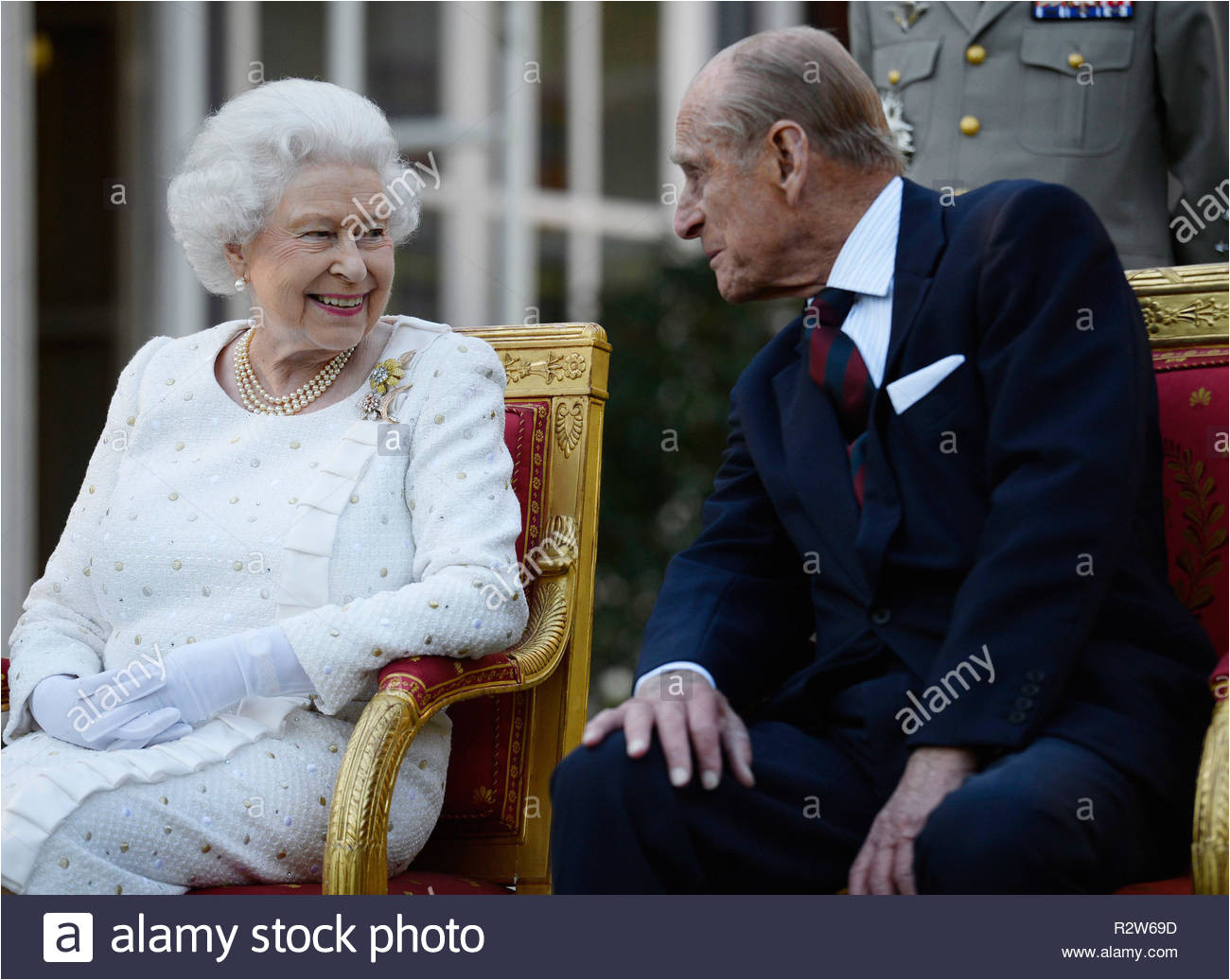 file photo dated 050614 of queen elizabeth ii and the duke of edinburgh the royal couple married on november 20 1947 at westminster abbey and are celebrating a rare achievement their 71st wedding anniversary r2w69d jpg