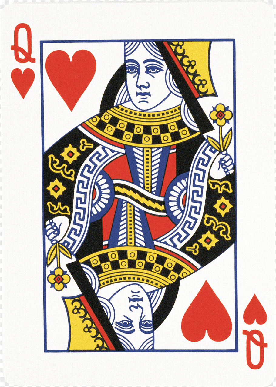 queen of hearts playing card king playing cards queen of hearts playing card png clip art png