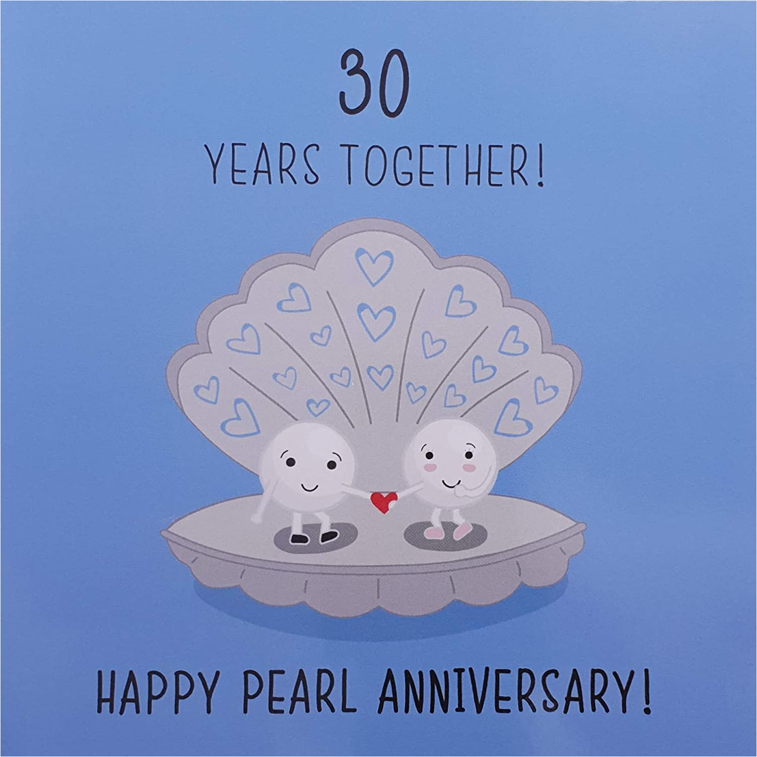 Ruby Anniversary Card for Husband 30th Wedding Anniversary Card Pearl Anniversary
