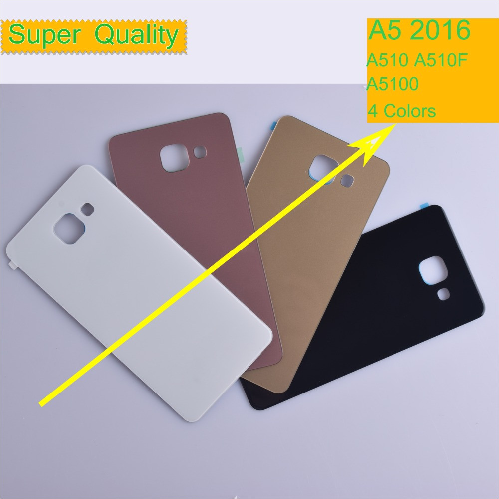 10pcs 252flot for samsung galaxy a5 2016 a510 a510f a5100 housing battery cover back cover case jpg
