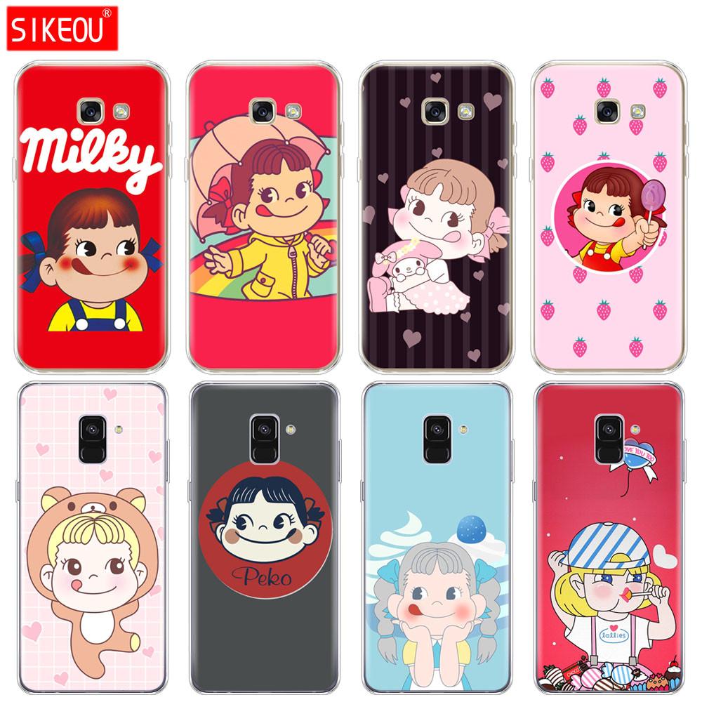 silicone phone case cover for samsung galaxy a8 2018 a3 a310 a5 a510 a7 2016 2017 jpg
