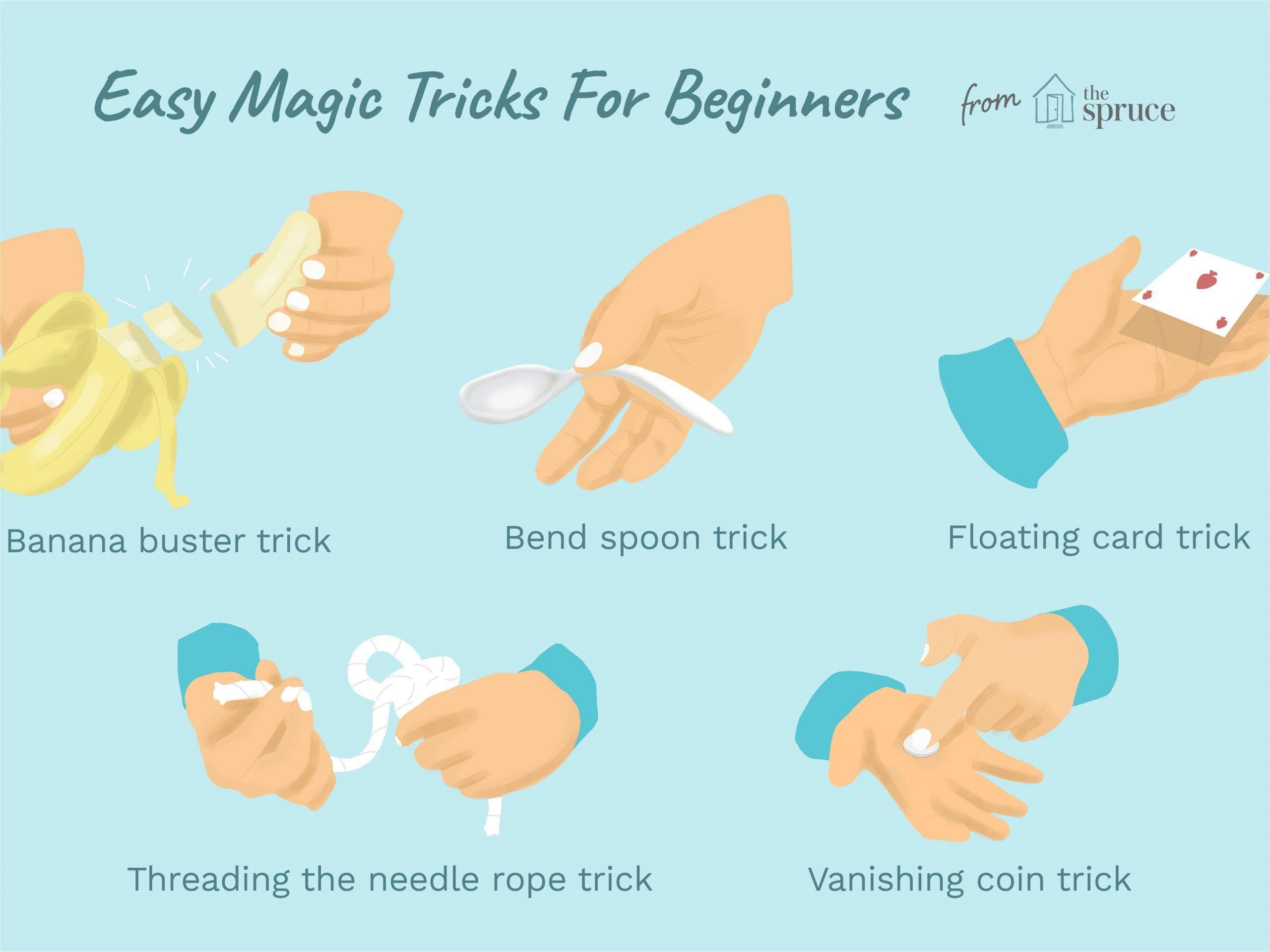 Simple Card Tricks Step by Step Easy Magic Tricks for Kids and Beginners