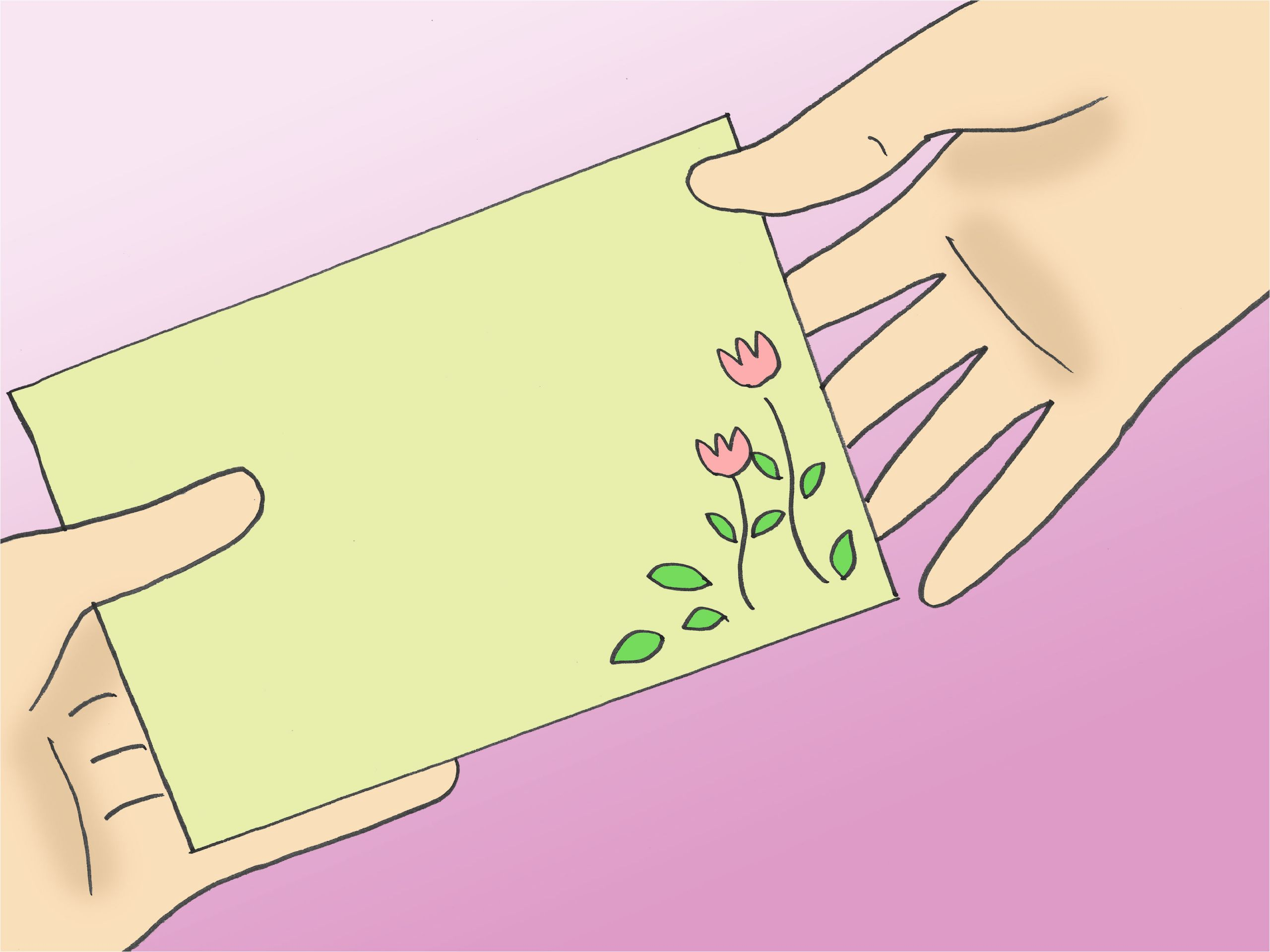 Simple Design for Teachers Day Card 5 Ways to Make A Card for Teacher S Day Wikihow