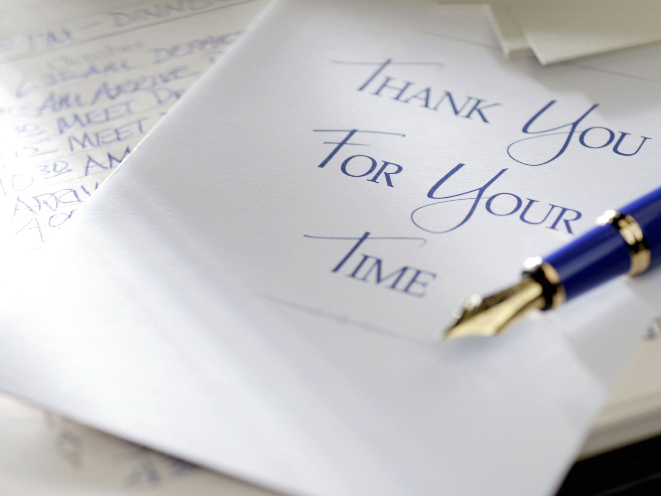 Standard Thank You Card Size Guidelines for Writing Great Thank You Letters