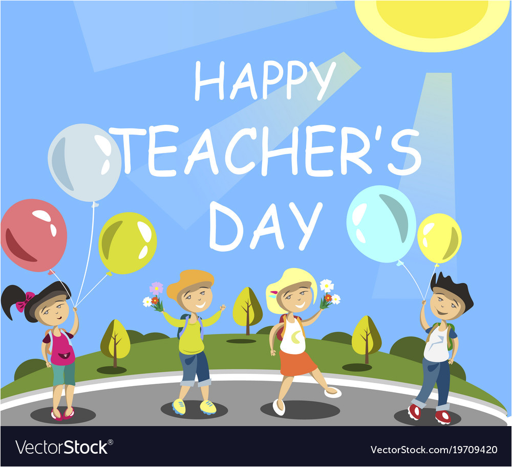 happy teachers day vector 19709420 jpg
