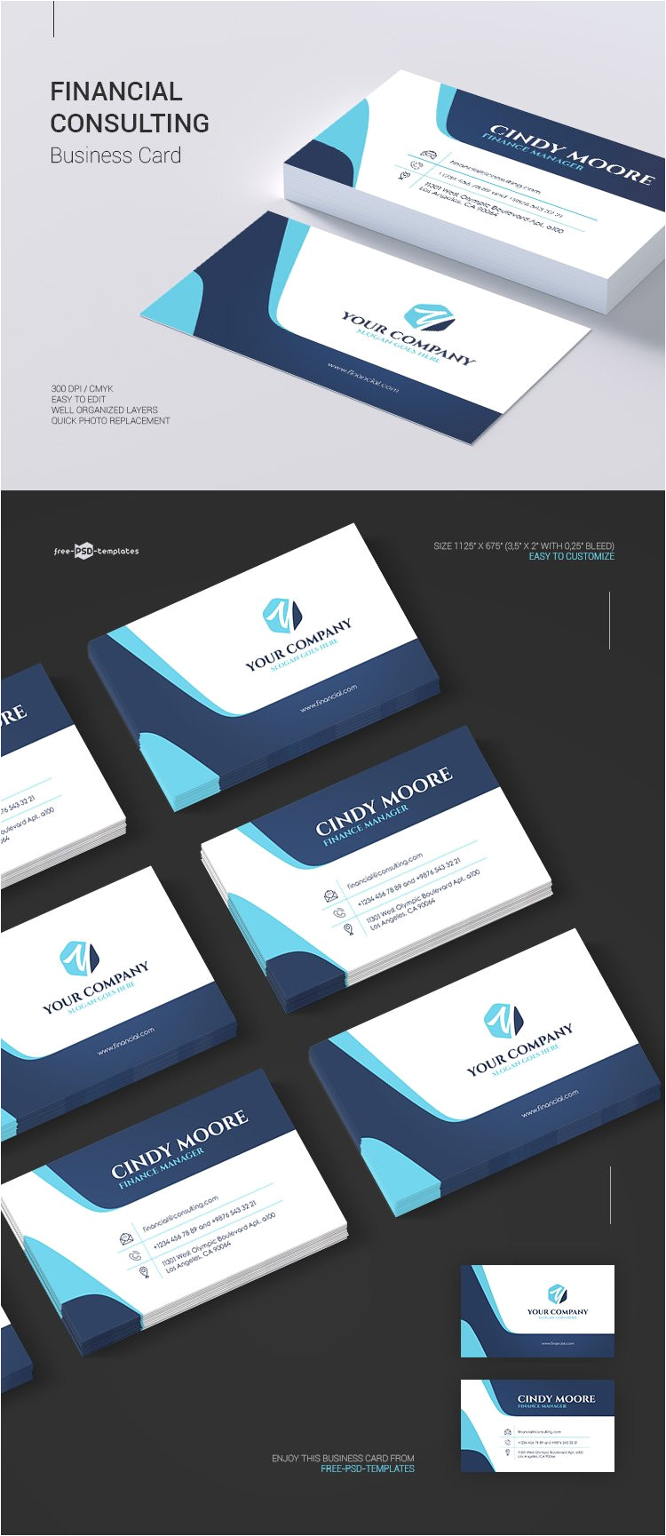 preview business card 1 free financial consulting business card in psd jpg