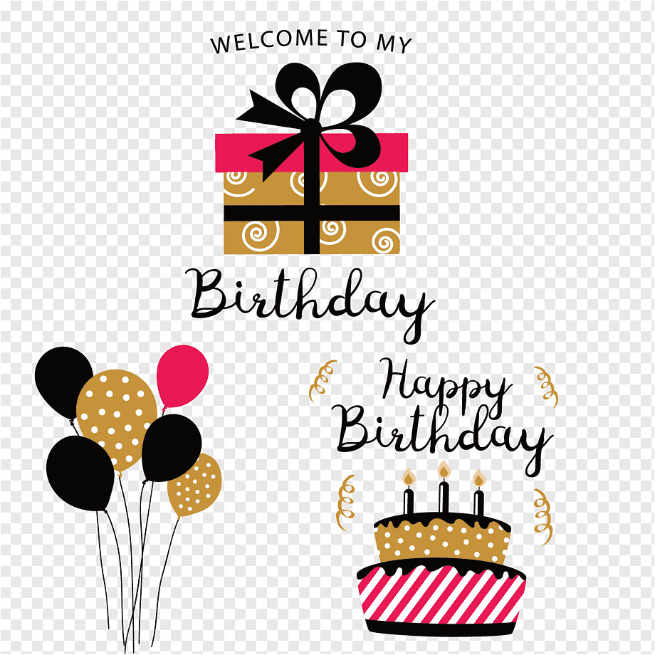 png transparent birthday paper party gift gratis birthday card element other text happy birthday to you png