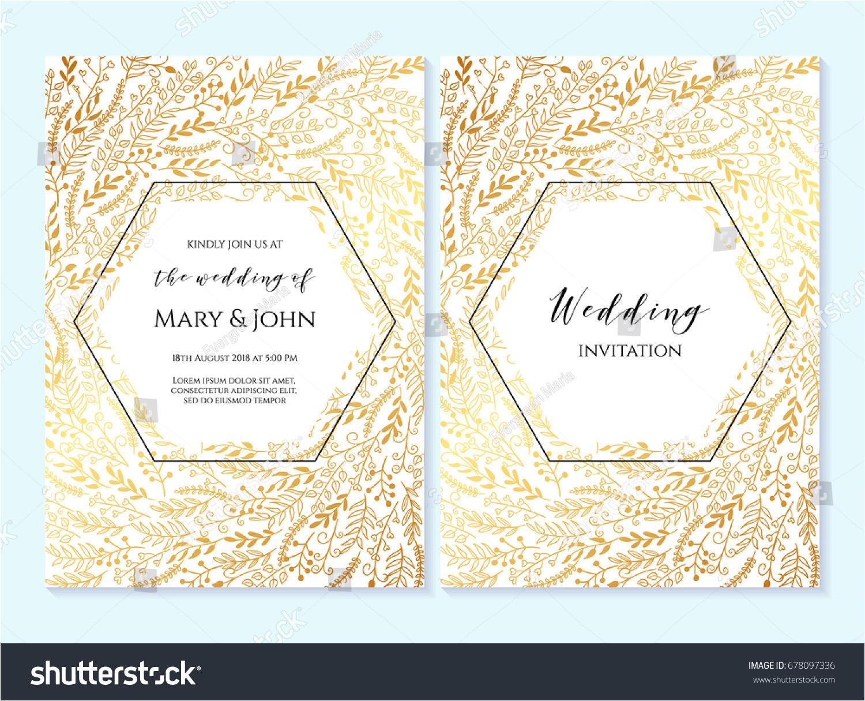 stock vector wedding invitation thank you card save the date card wedding invitation baby shower menu 678097336 jpg
