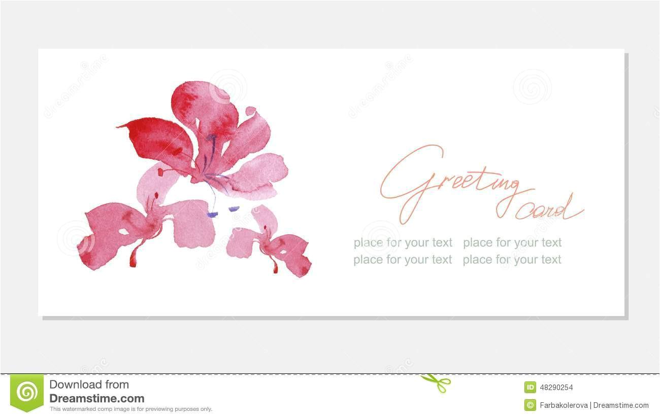 floral greeting card beautiful pink flovers thank you realistic spring flowers banner drop shadows beige elegant 48290254 jpg