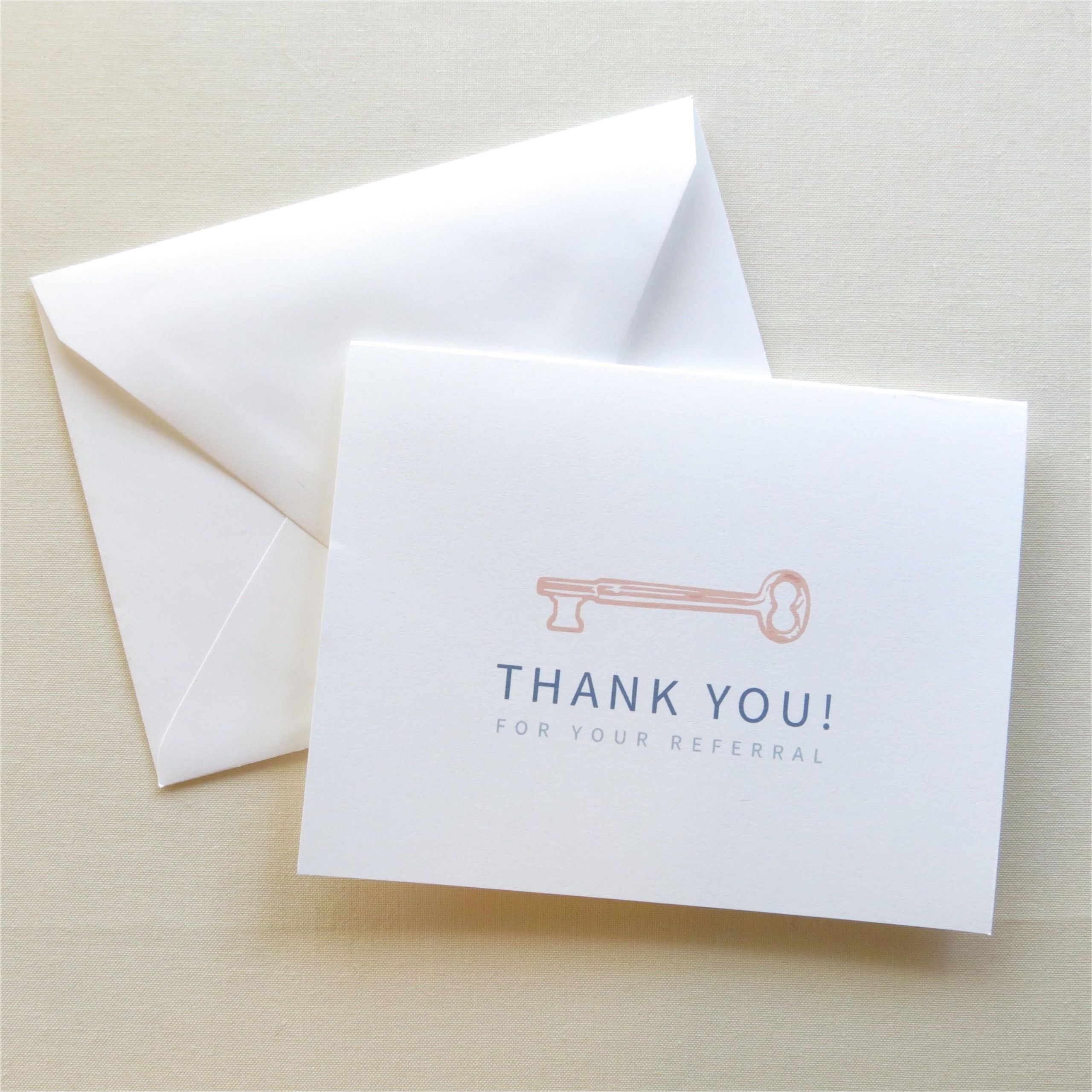 Thank You Card Real Estate Real Estate Agent Thank You Card Thank You for Your