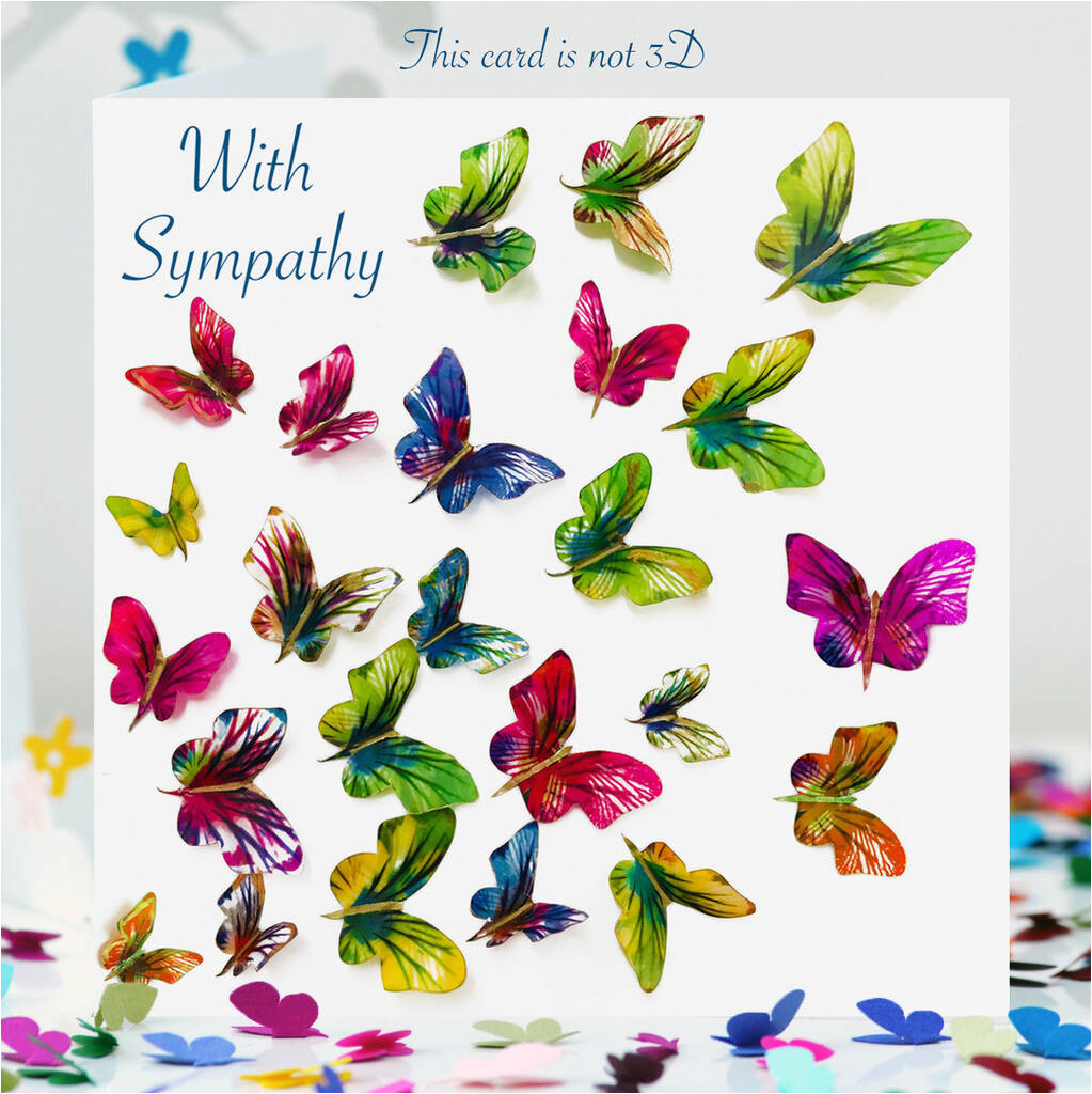 original with sympathy closer than you know butterfly card jpg