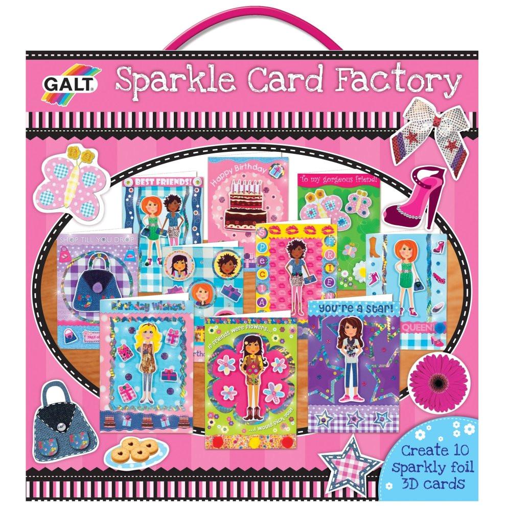 galt toys girl club 3d sparkle card factory gift jpg
