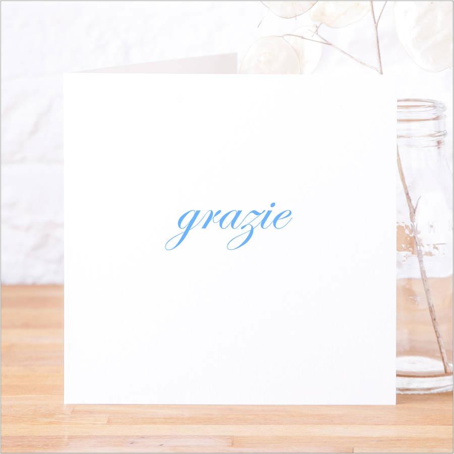 original pack of italian grazie thank you cards jpg