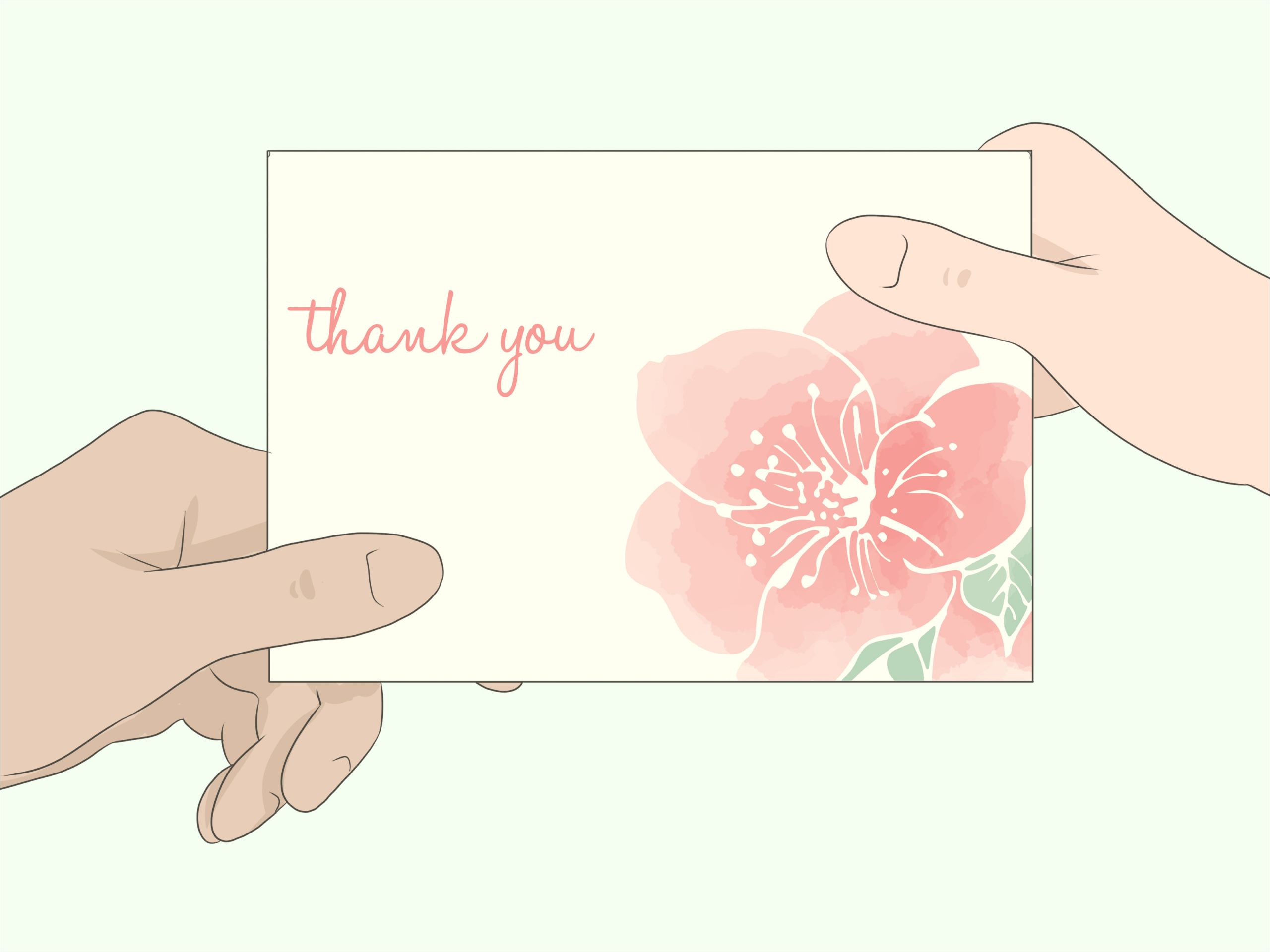 write a thank you card for flowers step 12 jpg