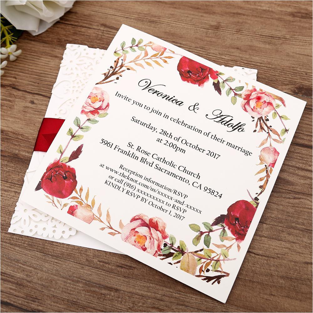 Ttd Marriage Card Sending Address White Gatefold Laser Cut Engagement and Weddding Invitation