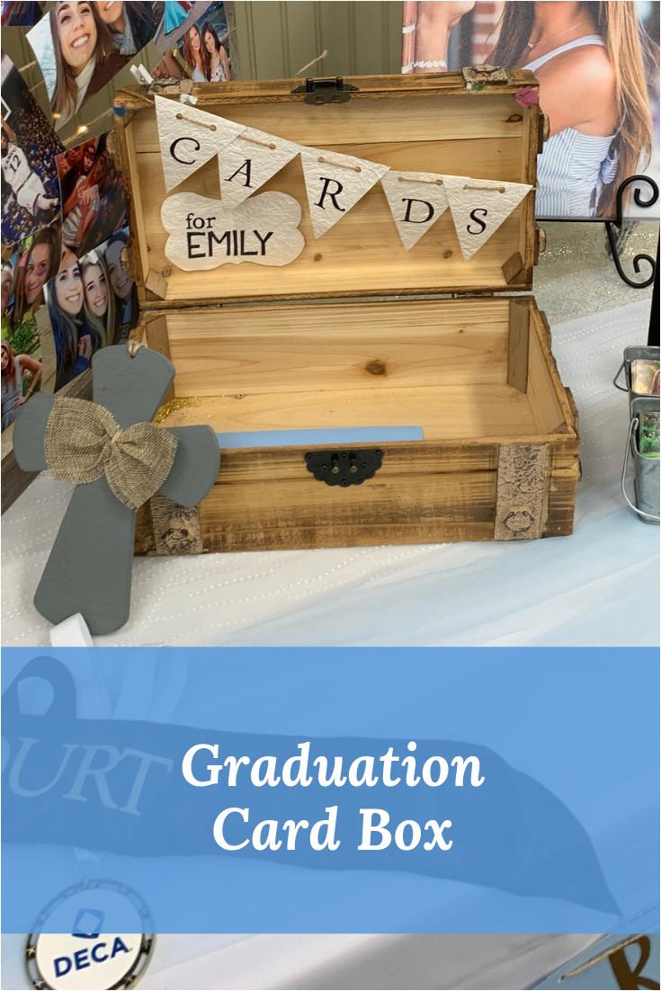 Unique Graduation Card Box Ideas A Graduation Party Senior Table isn T Complete with A Place